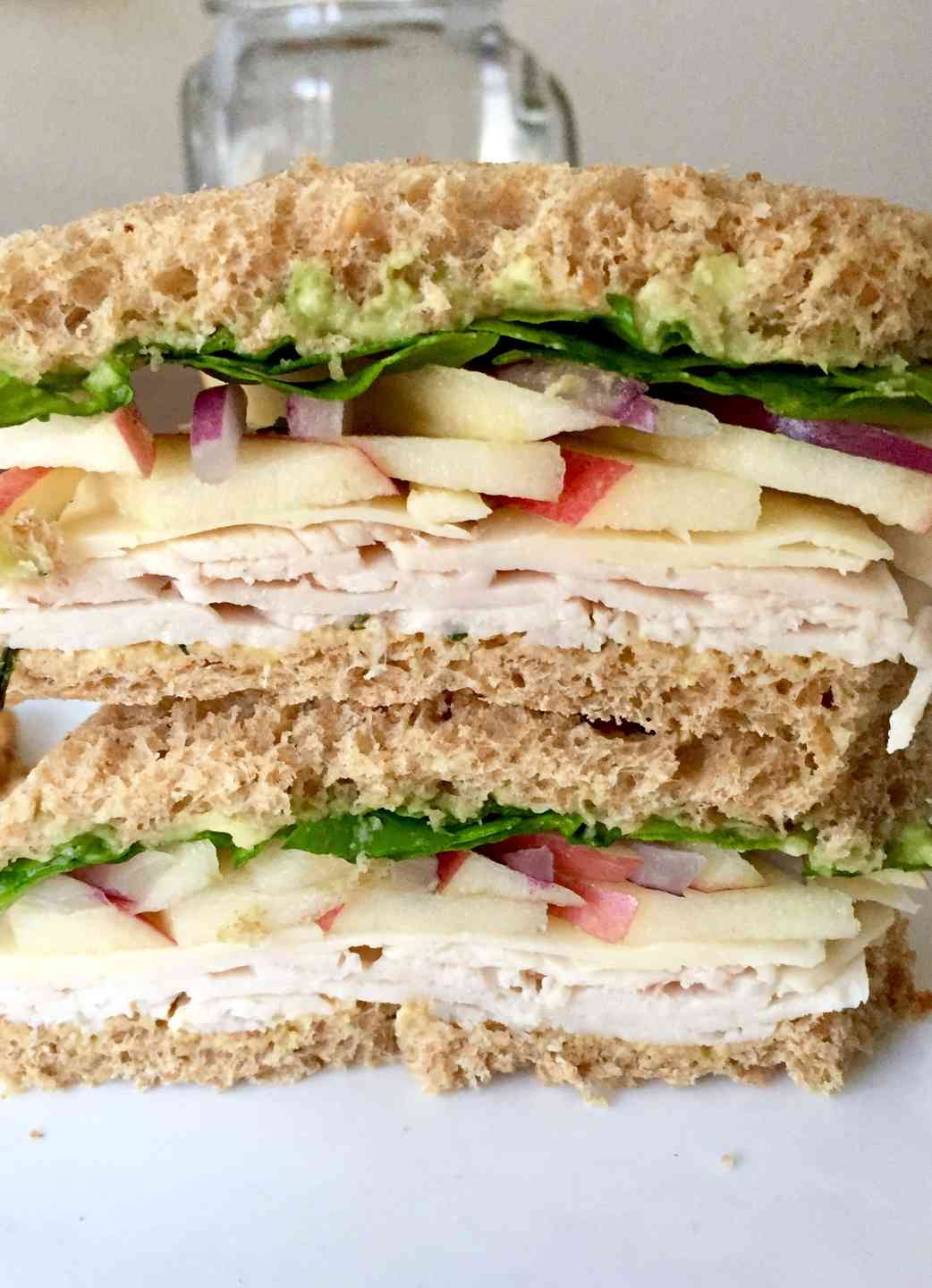 Turkey Apple Cheddar