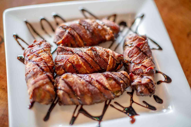 Handmade Bacon-Wrapped Jalapeños