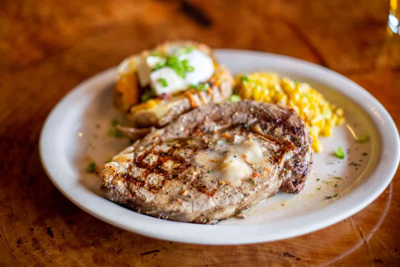 Grilled Rib Eye Steak*