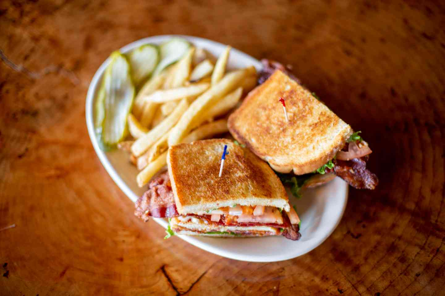 The Club-Style BLT