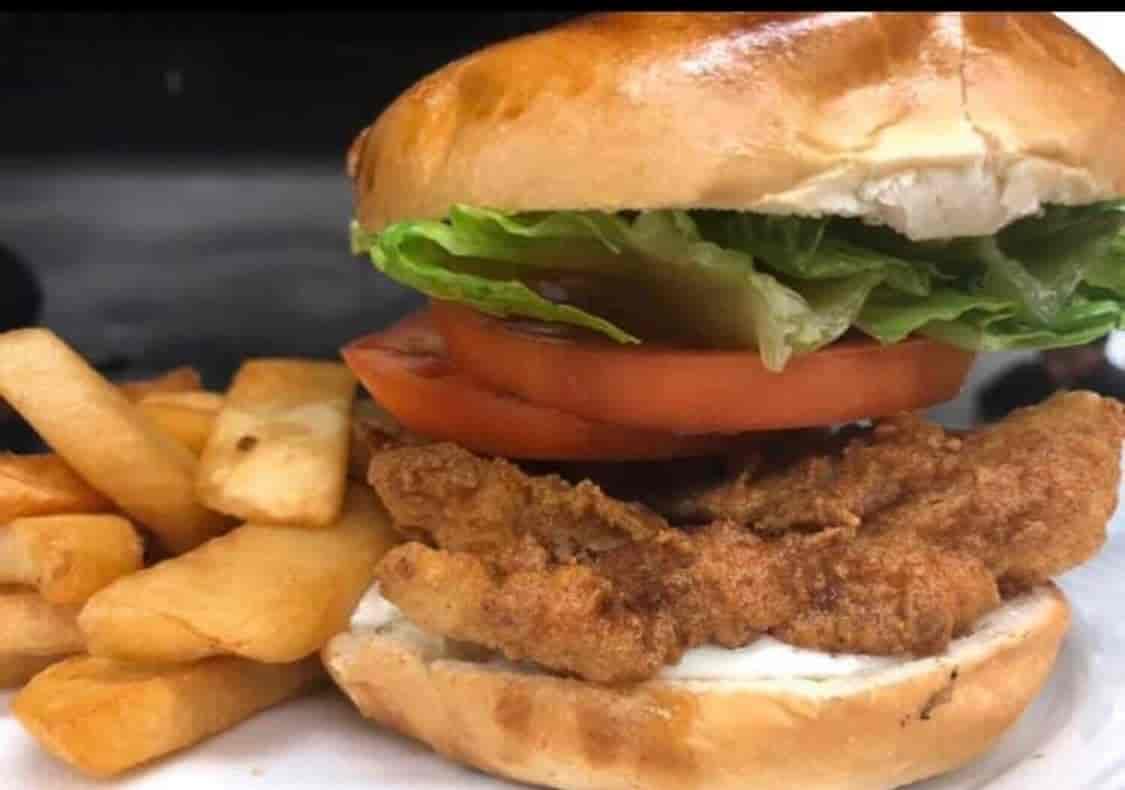 Fried Haddock Sandwich