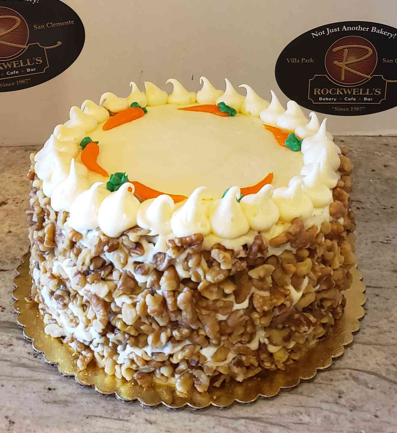 Rockwell's famous Carrot Cake