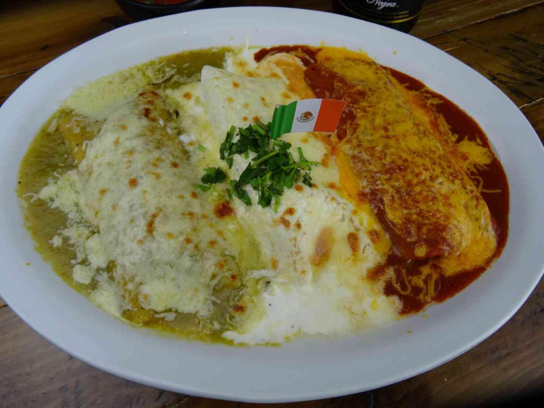 Bandera Enchilada Platter