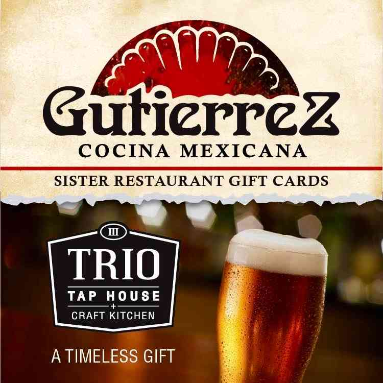 Gift Card Family Mexican Food