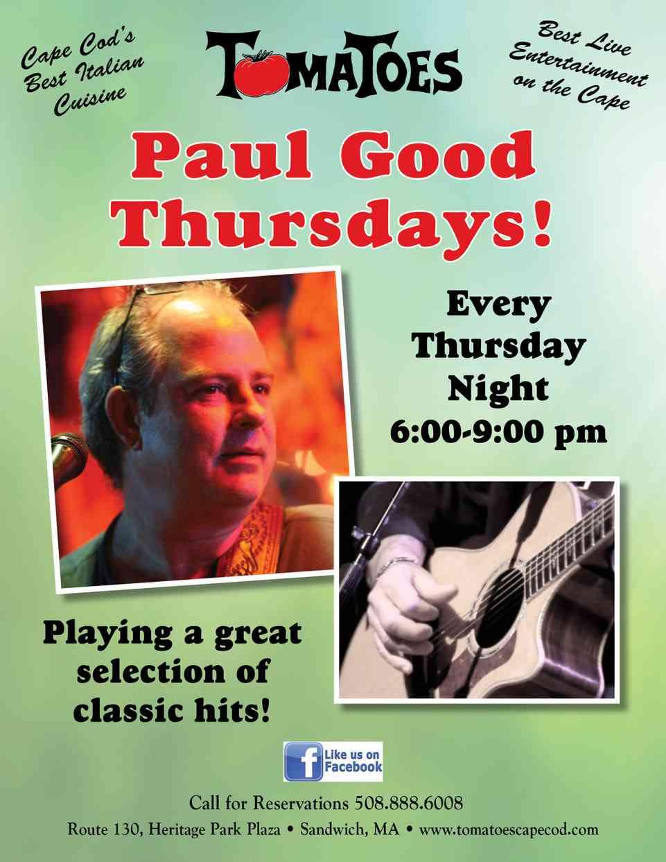 Paul Good Thursdays