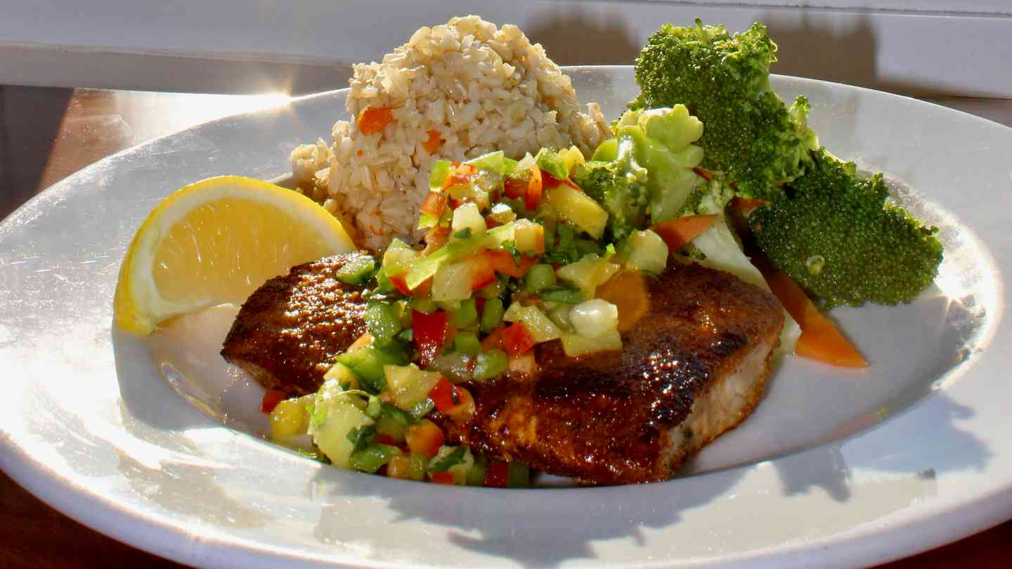 Cajun Seared Mahi Mahi