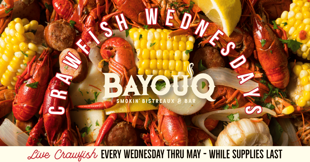 Crawfish Wed's Bayou'Q Roswell
