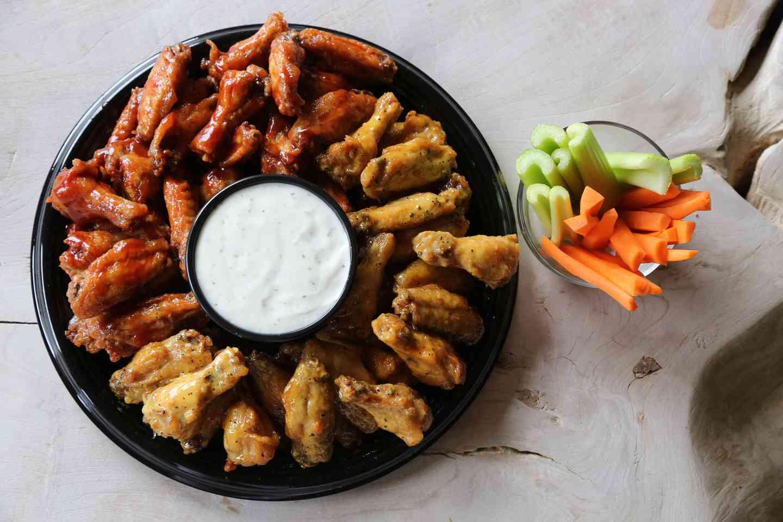 50 Wings Platter