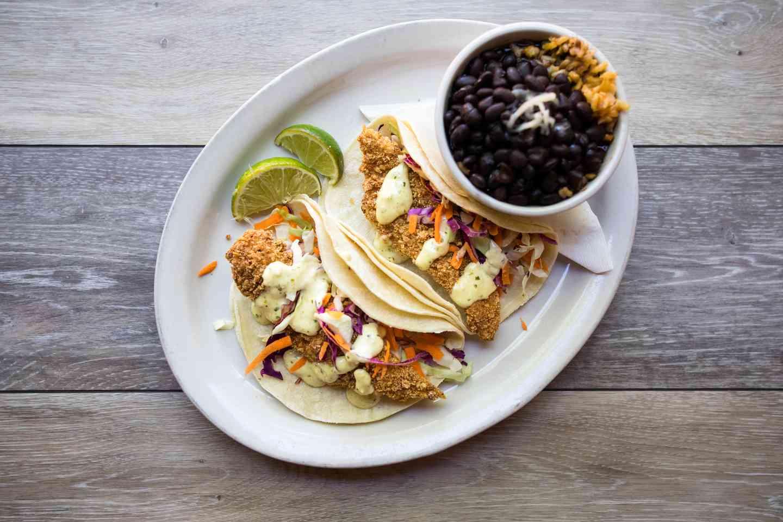 Crispy Catfish Taco