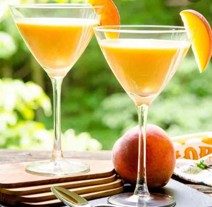 Feeling Peachy Martini