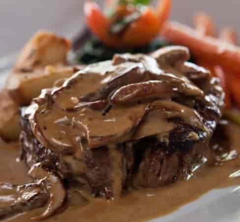 *Steak Diane