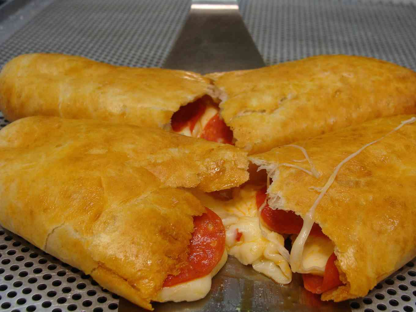 Pepperoni & Cheese Wraps