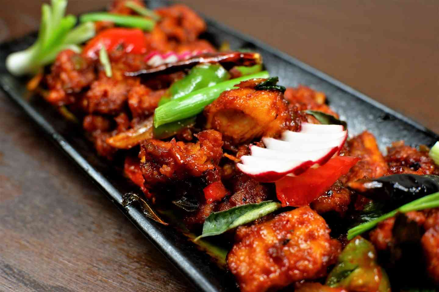Chilli Chicken (Indo Chinese)