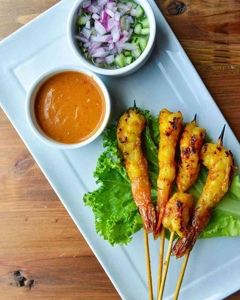 Shrimp Satay – Tôm Satay
