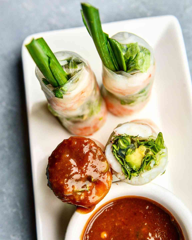 Fresh Shrimp Spring Rolls – Gỏi Cuốn