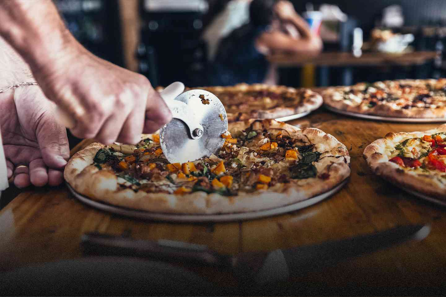 Hand-Tossed, All Natural Pizza