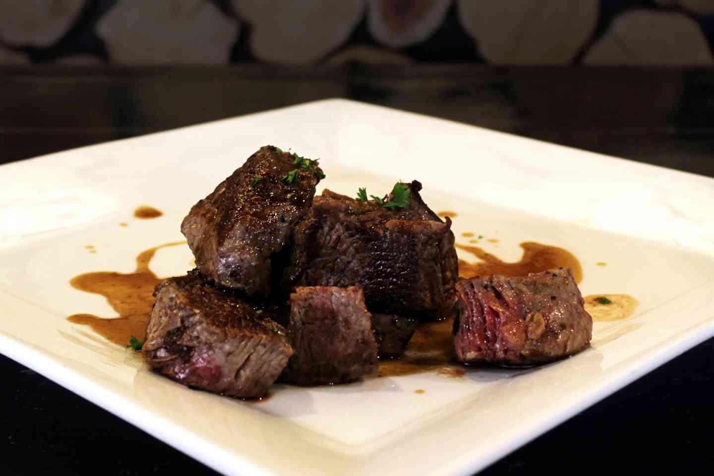 8 oz Beef Tips