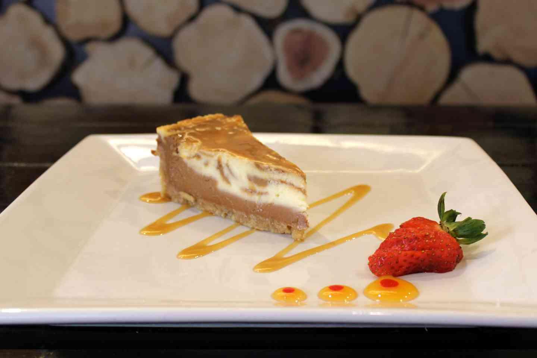 ChopHouse Salted Caramel Cheesecake
