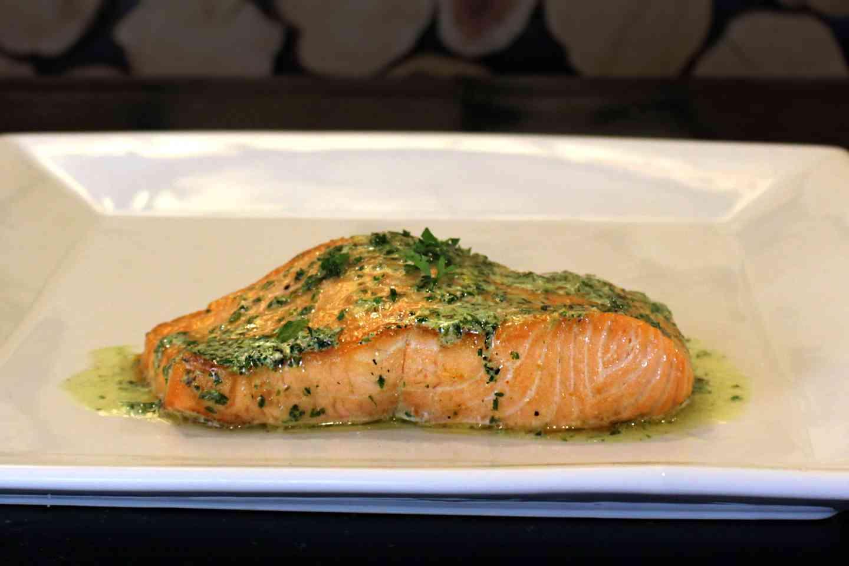 Cedar Plank Prime Salmon