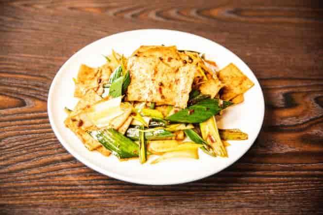 Double-Cooked Tofu 素回锅
