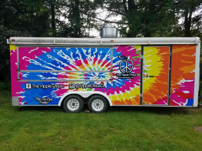 tie dye trailer