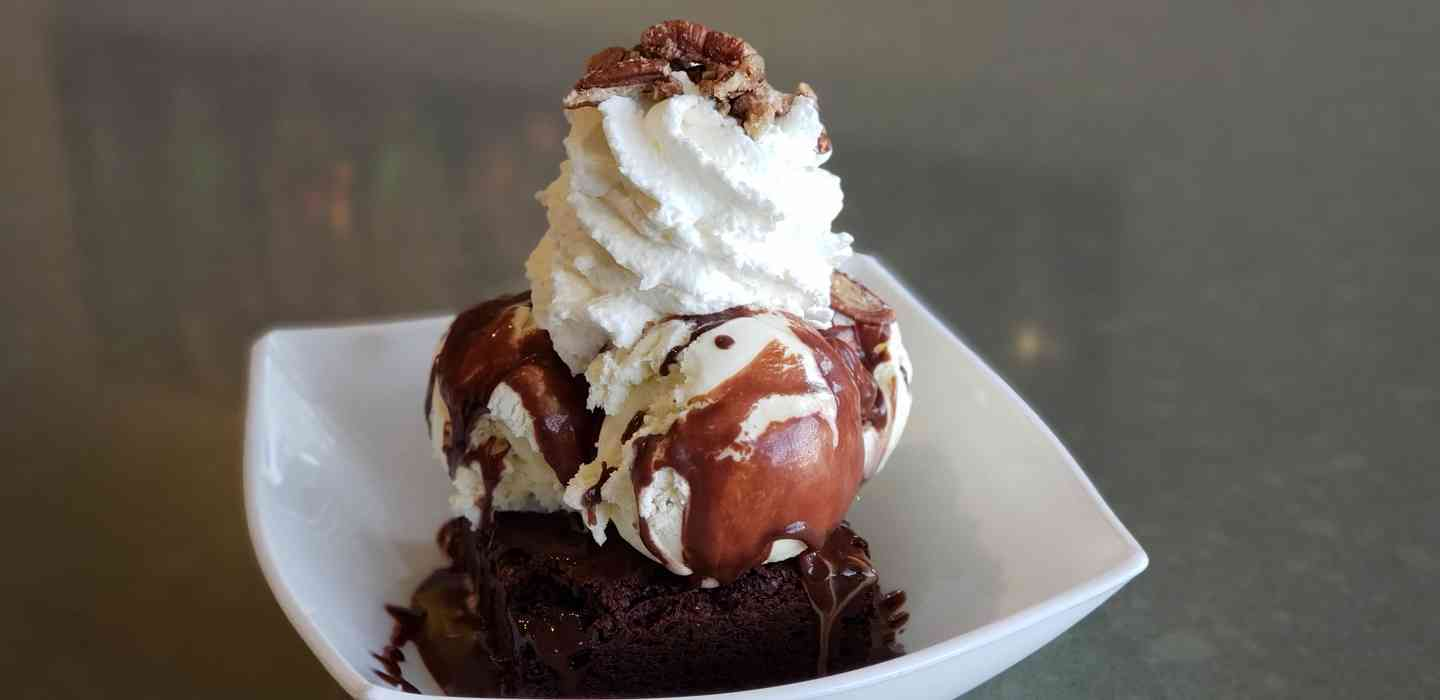 Brownie Fudge Sundae