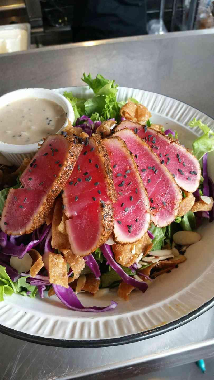 Pan-Seared Ahi Salad