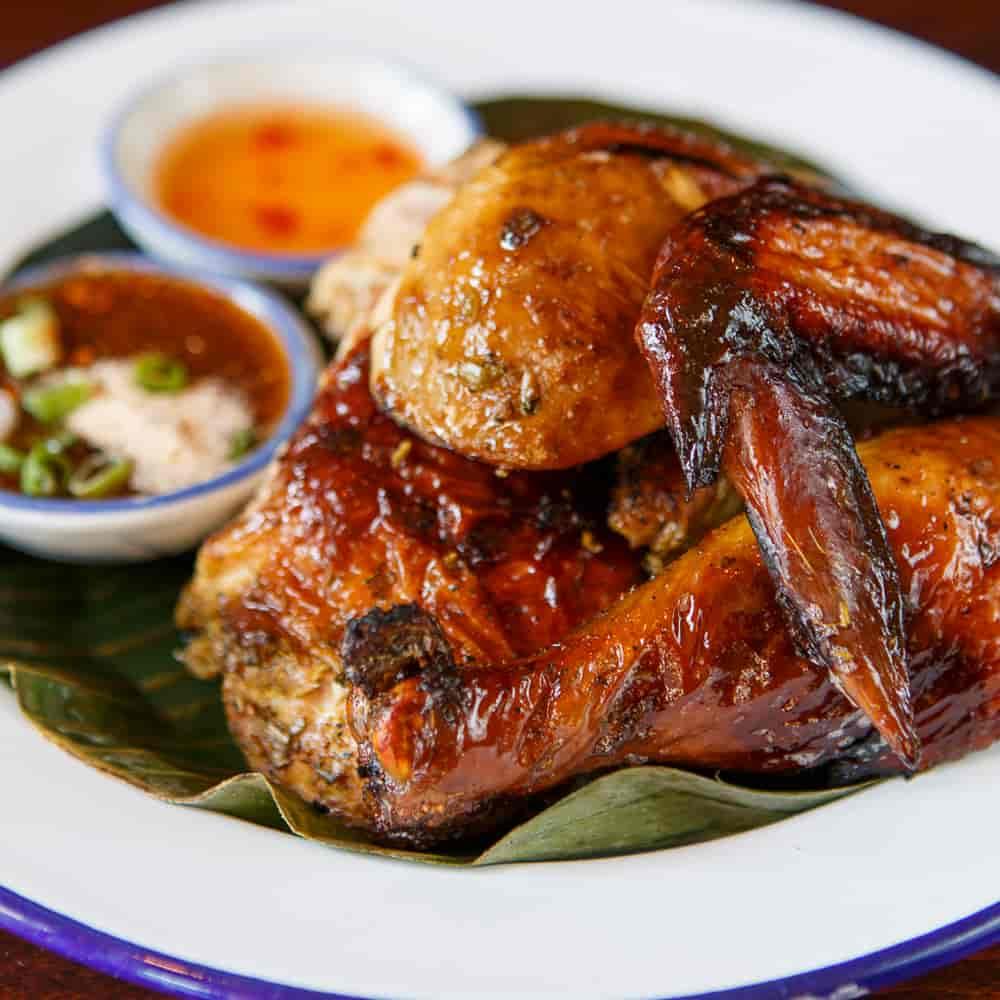 BBQ Chicken & Gai Yang Issan