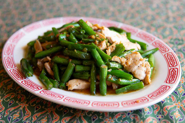 Green Bean & Fresh Garlic