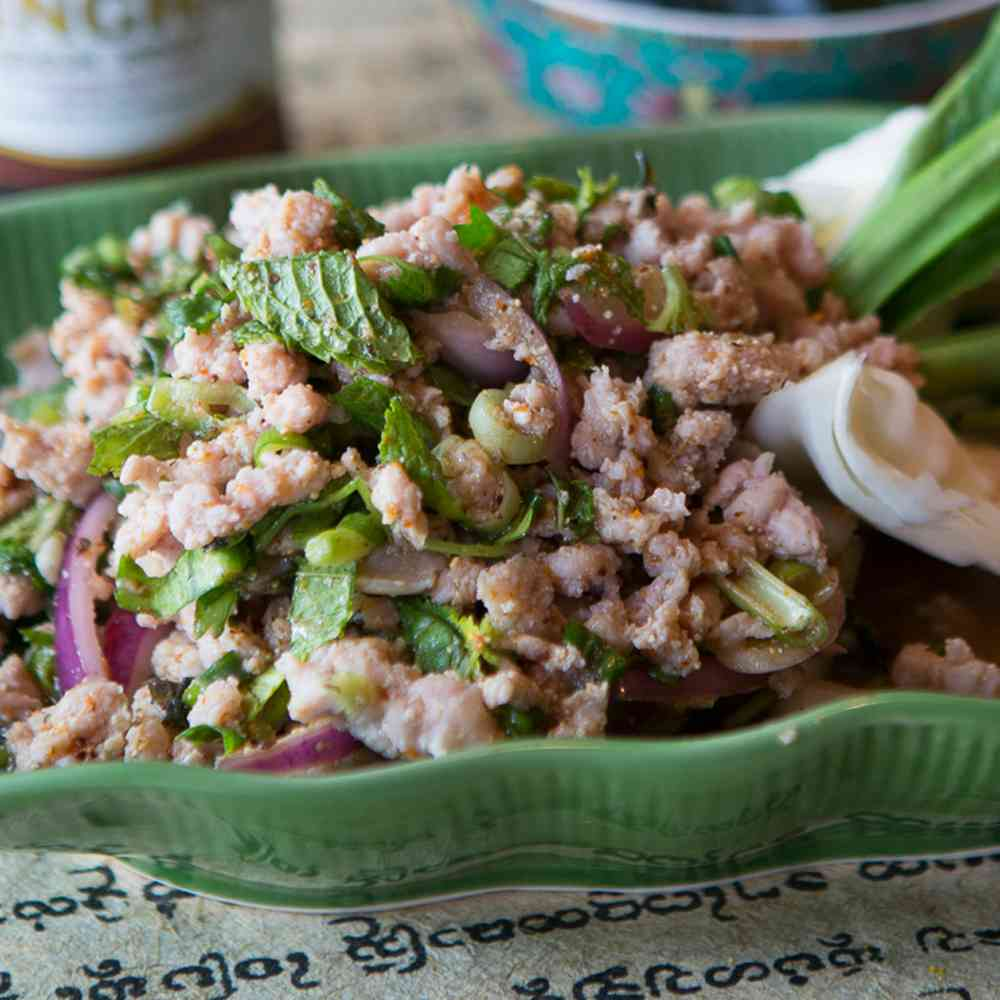 Spicy Northeastern Salad / Larb