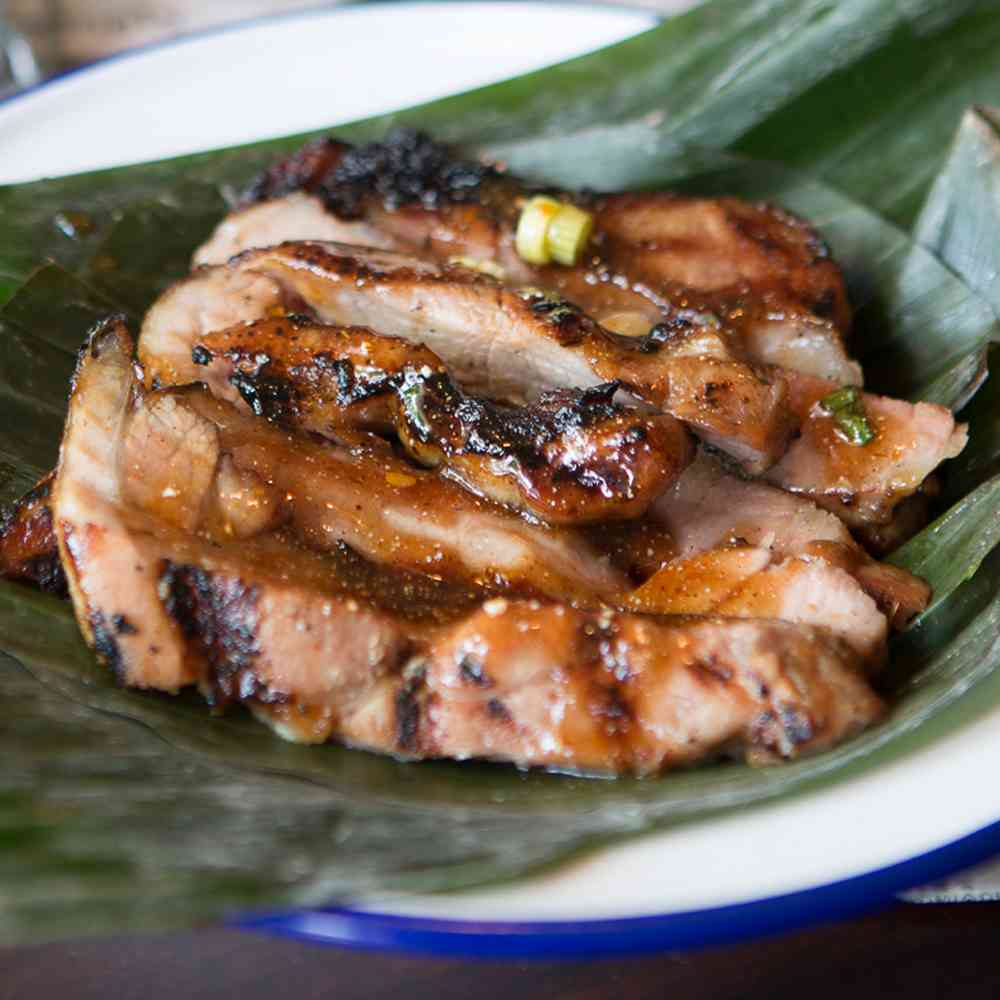 Grilled Pork Shoulder
