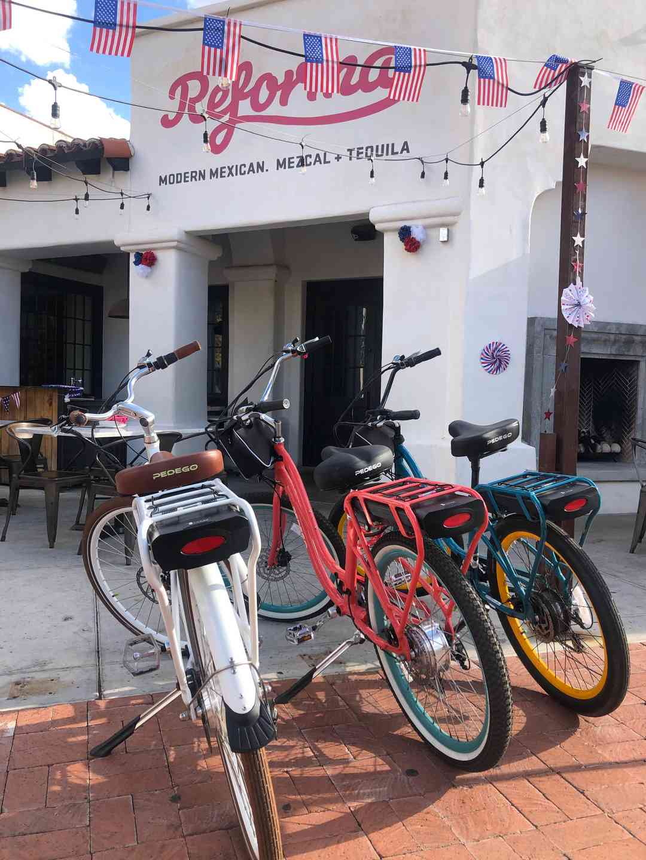 Weekly Electric Bike Rides