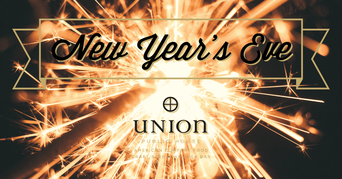 New Year's Eve at Union Public House