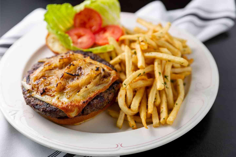 8 Oz Black Angus Burger