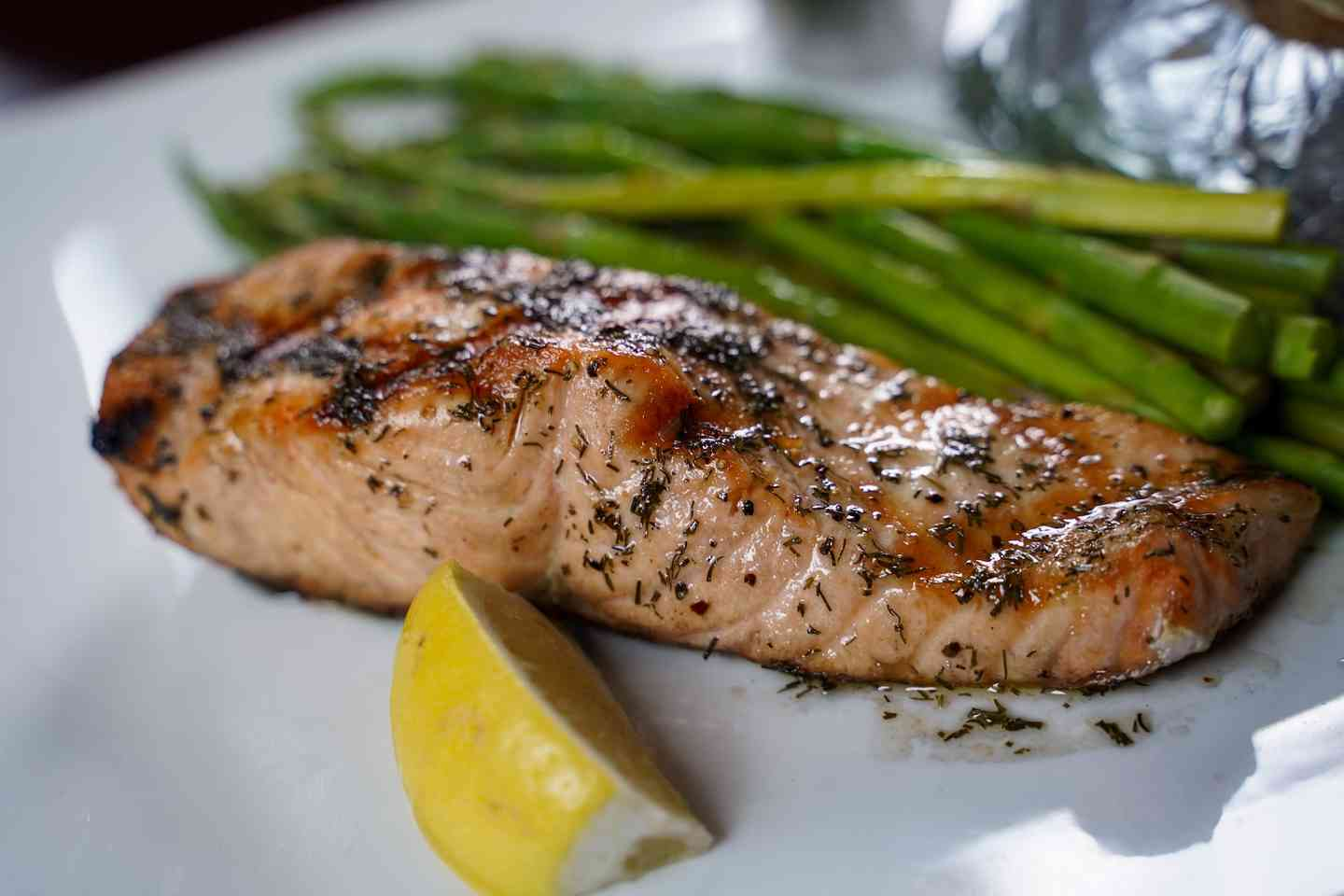 *Fresh Grilled Salmon