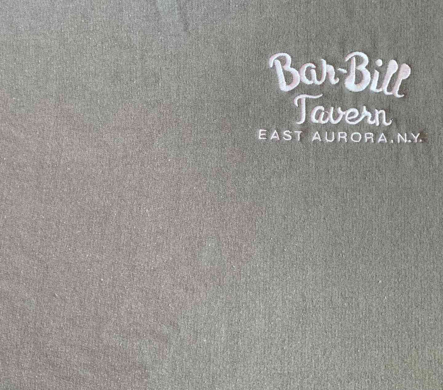 BAR-BILL GRAY CREWNECK SWEATSHIRT