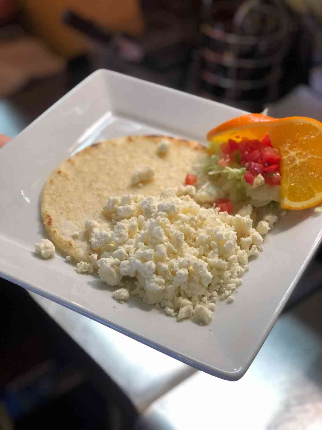 Arepas with Queso