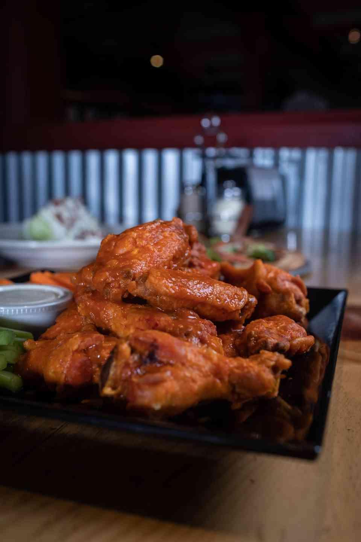 Buffalo Style Hot Wings