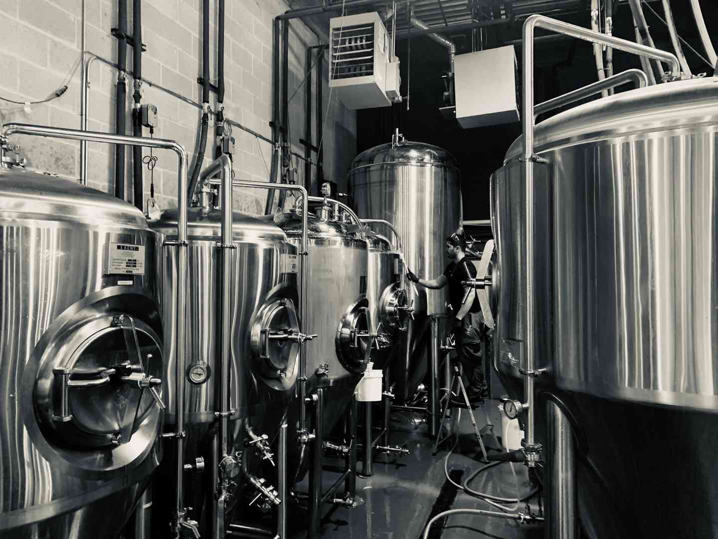 brewery area