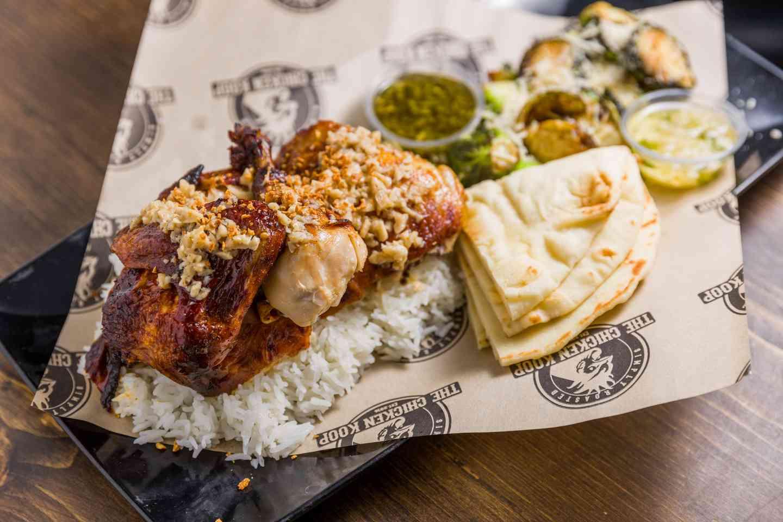 The Garlic Chicken Plate