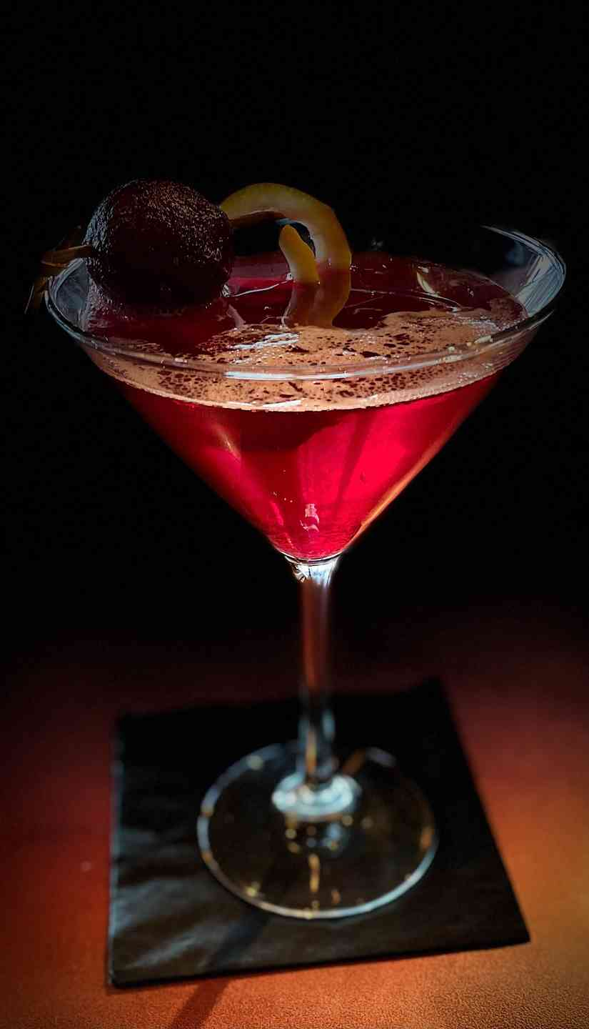 SWEET & SOUR BEET MARTINI