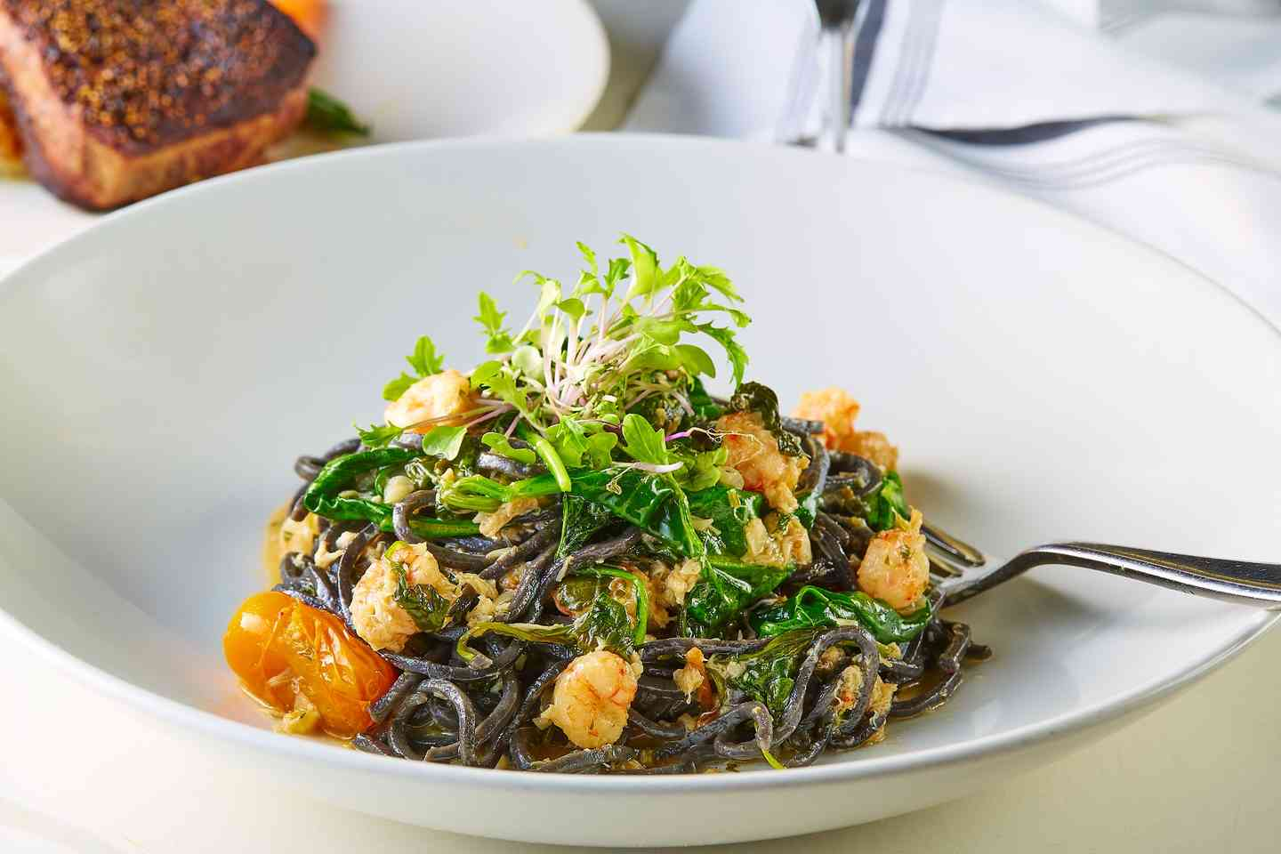 Squid Ink Linguini