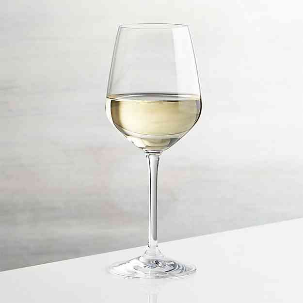 Glass of House White wine