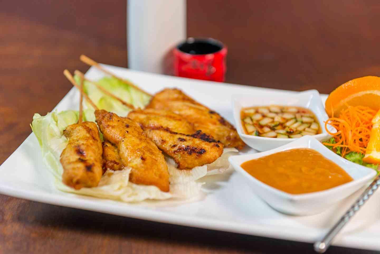 Chicken Satay (4 pieces)