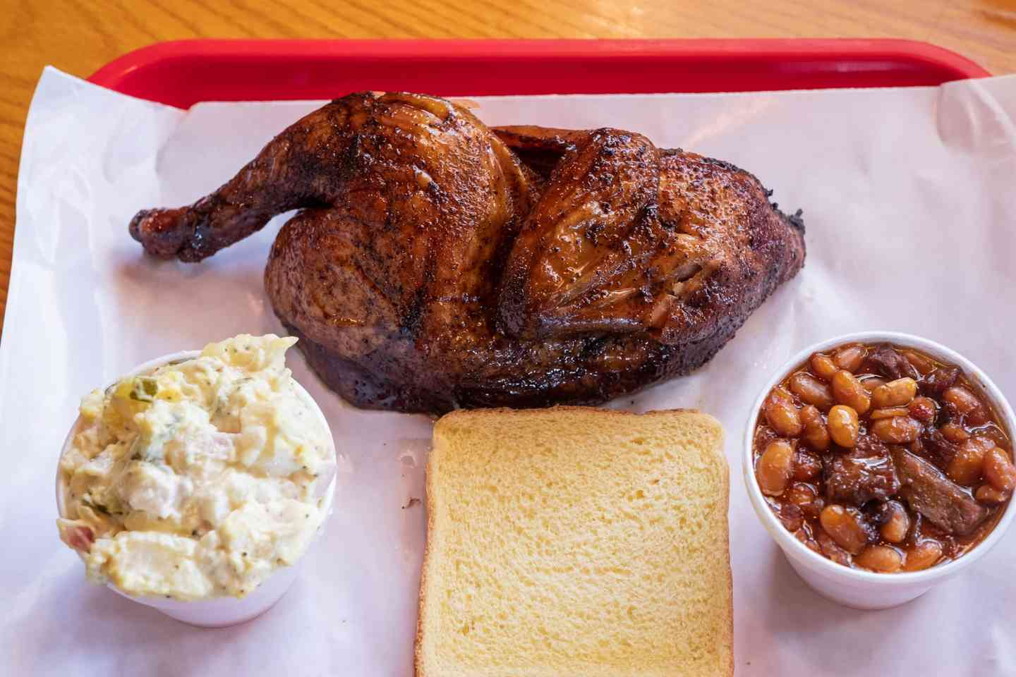 Smoked Chicken Platter