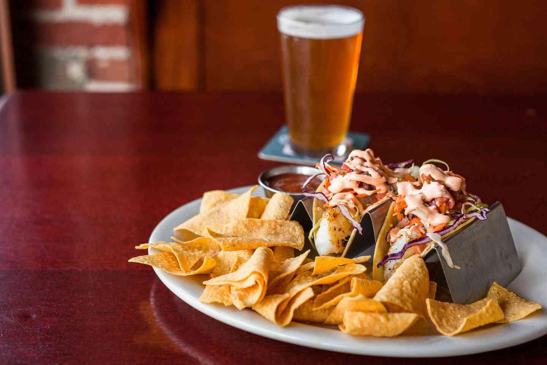 Alaskan Cod Fish Tacos