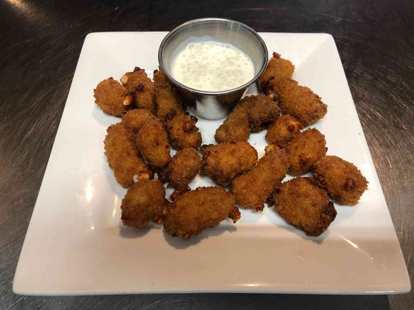 Spicy Wisconsin Cheese Curds