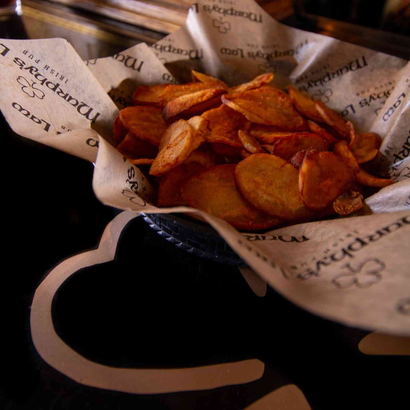 Basket Of Murphy's Chips