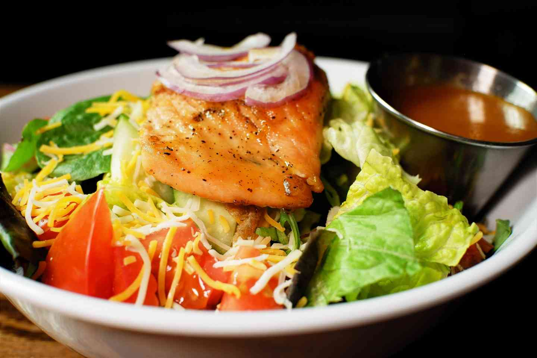 Glazed Salmon Salad*