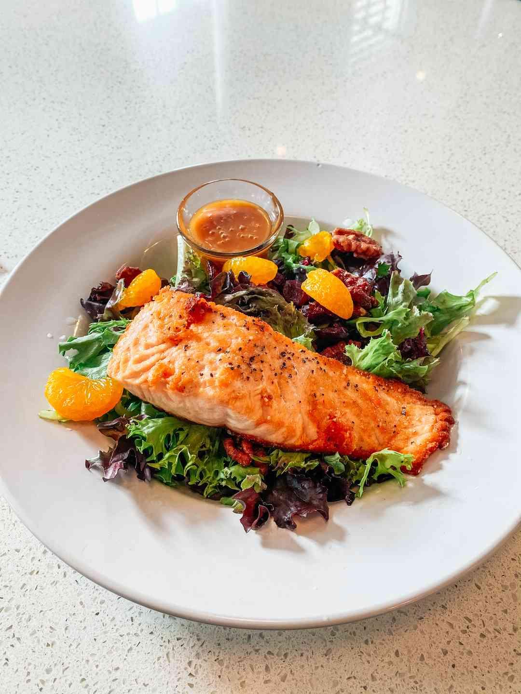 Cranberry Salmon Salad